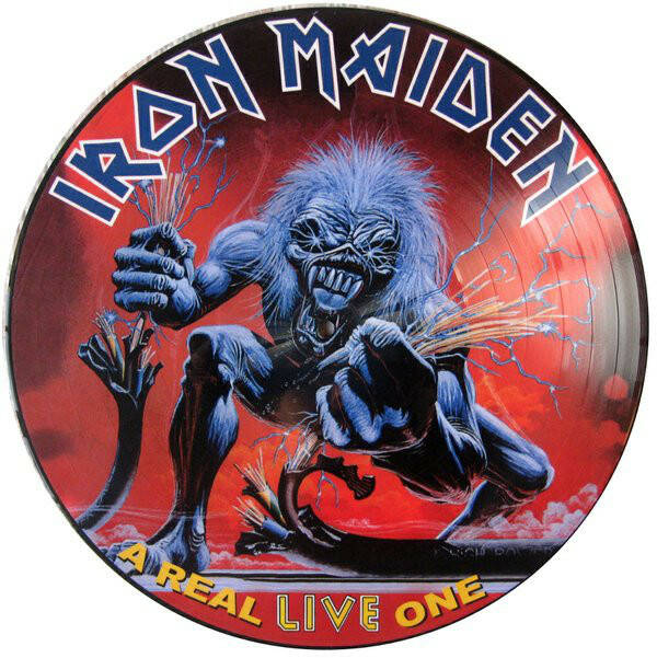 Iron Maiden – A Real Live One  Promo PD