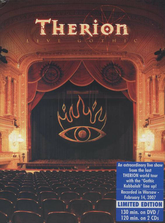 Therion – Live Gothic dvd+2cd