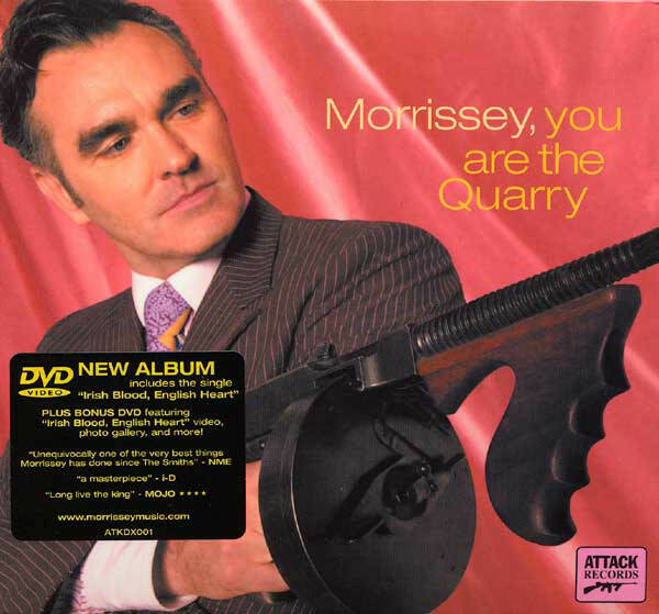 Morrissey – You Are The Quarry  cd+dvd