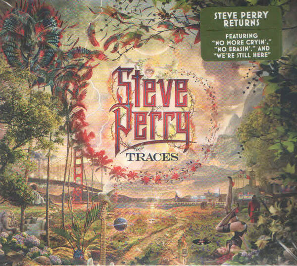 Steve Perry – Traces  US press