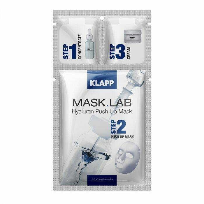 KLAPP MASK LAB HYALURON PUSH UP MASK