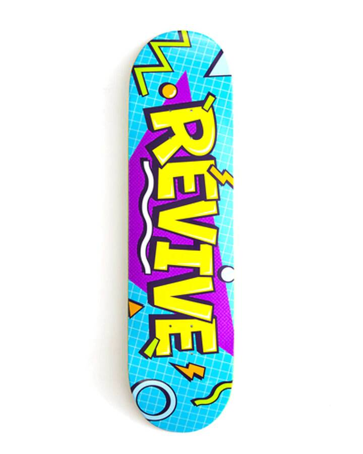 """ReVive Skateboard Deck Lunch Time 8.125"""""""