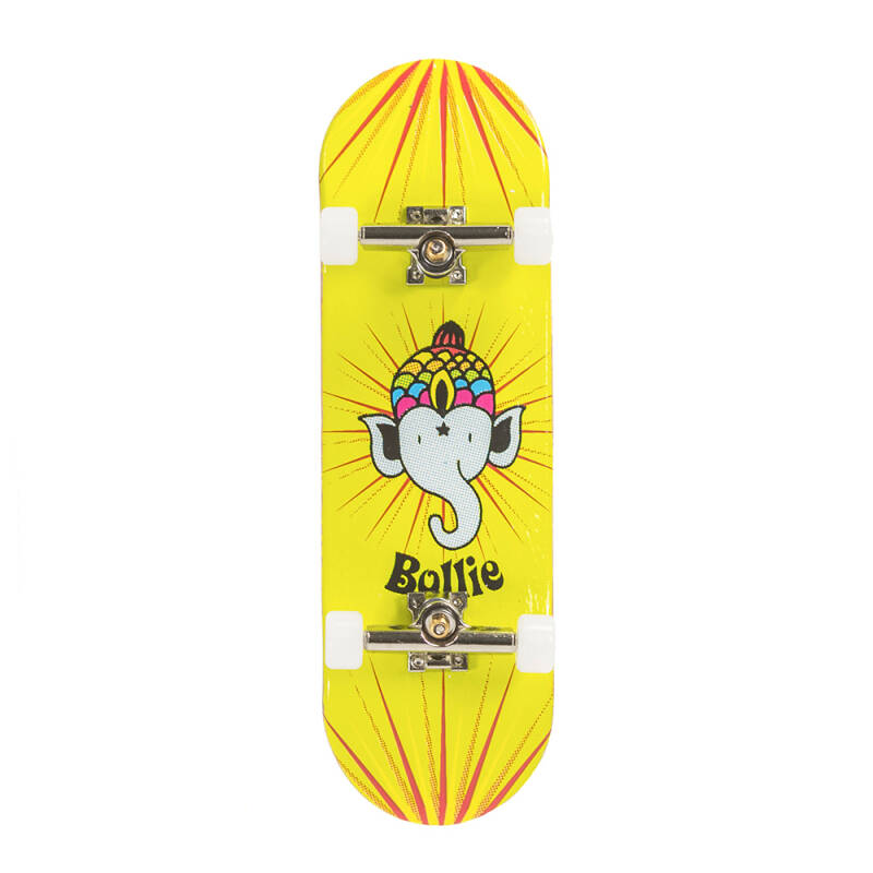 Bollie Fingerboard Logo Yellow Set