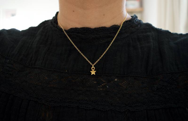 Gold with star