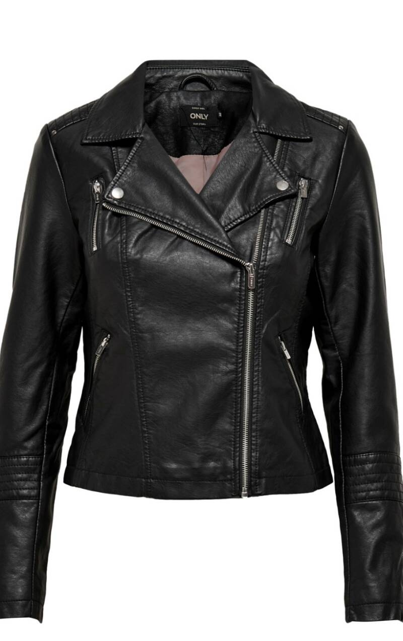 Only Gemma faux leather jacket