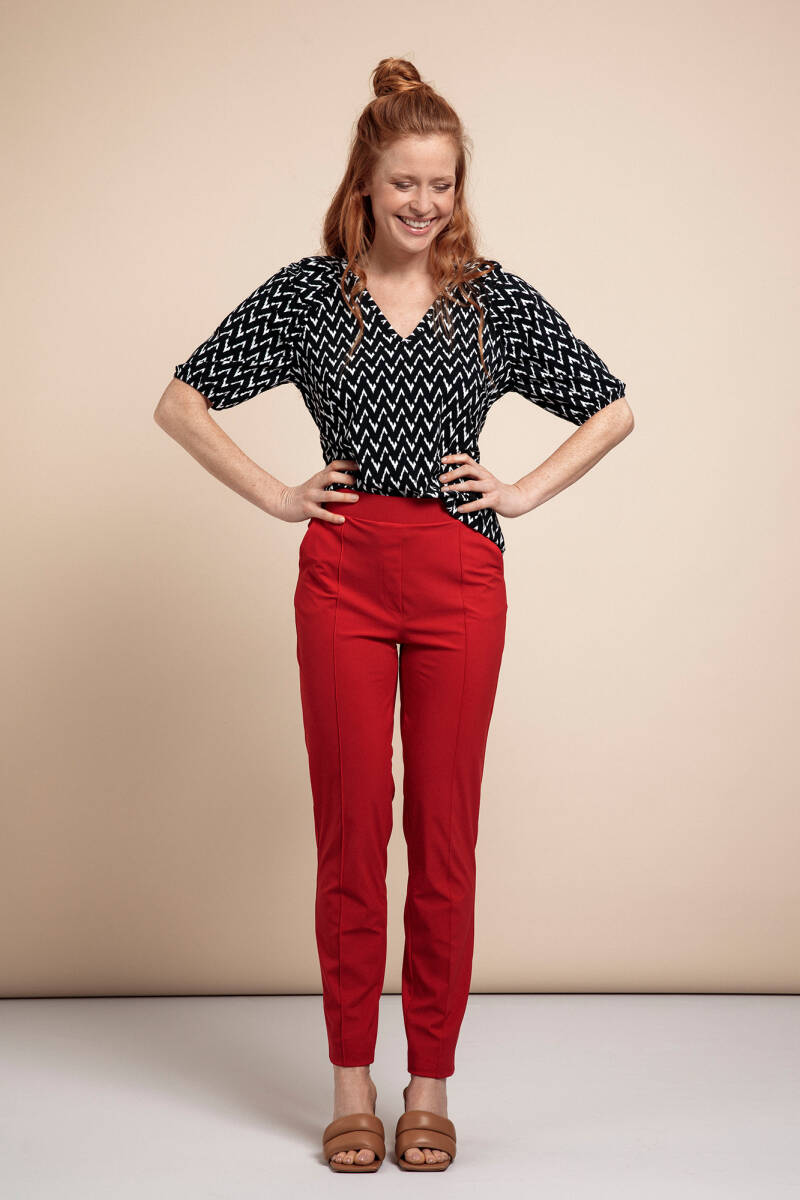 Kate trousers red