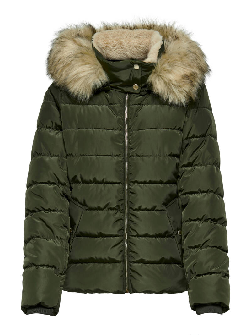 Only Camilla quilted jacket (green)