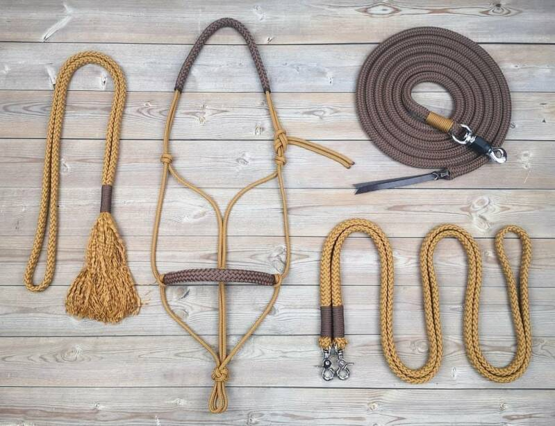 BASIC Complete set (touwhalster - touwteugel - neckrope - leadrope