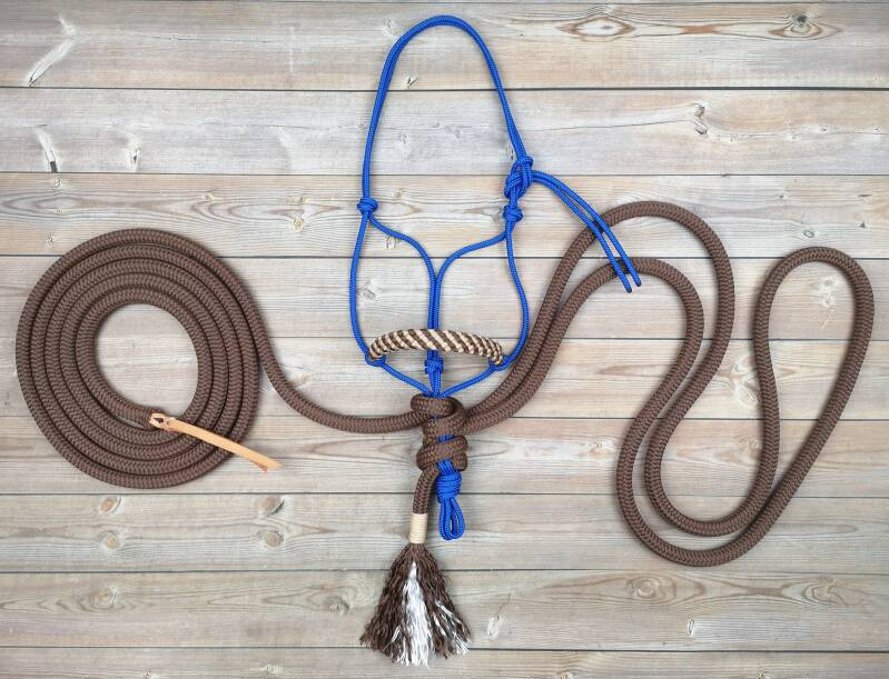 SPECIAL - BASIC Natural Hackamore (touwhalster - touwteugel - leadrope)