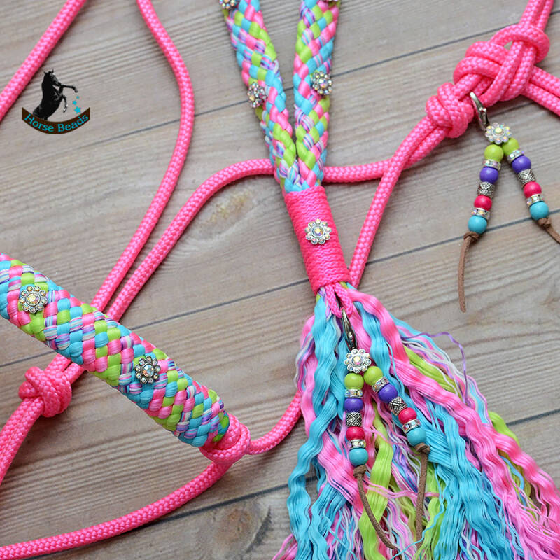 Spring Deluxe touwhalster + neckrope