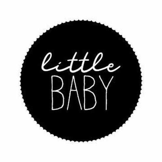 Sticker 'Little baby' - 10 stuks