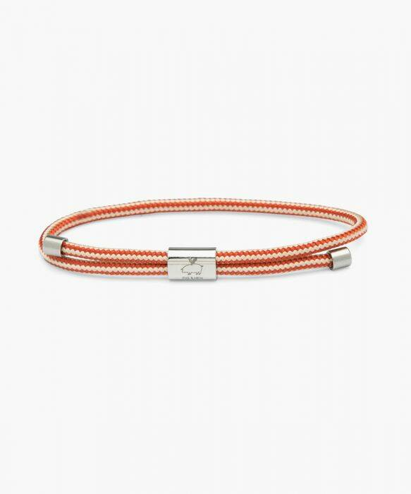 Pig & Hen - Little Lewis - Ivory-Coral Red/Silver