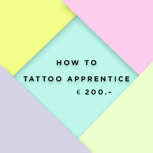 How To Tattoo Apprentice