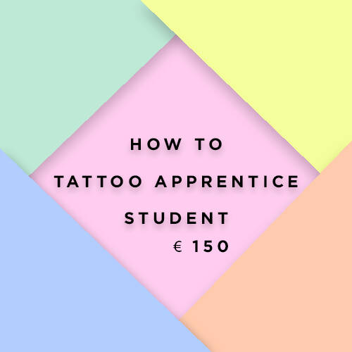 How To Tattoo Apprentice ~student