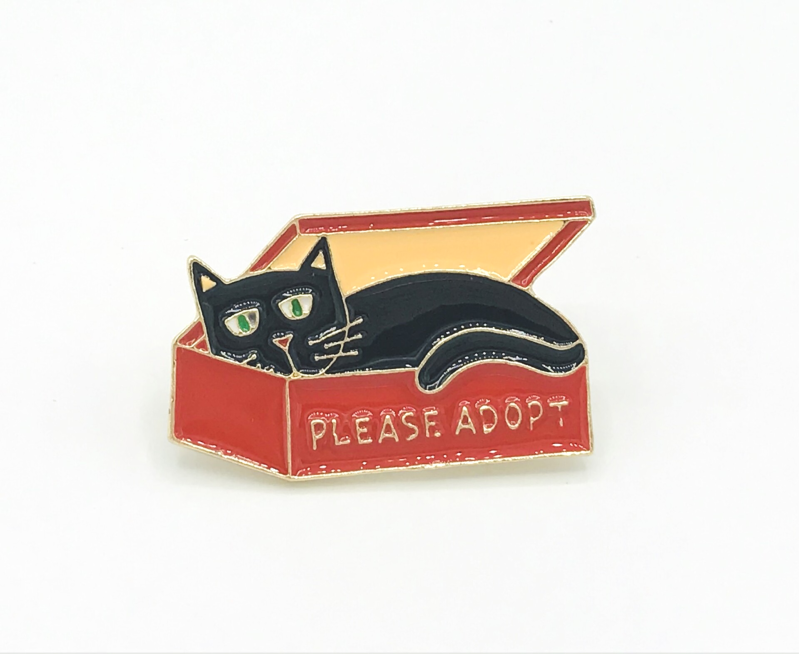 Adopt don't Shop: rood