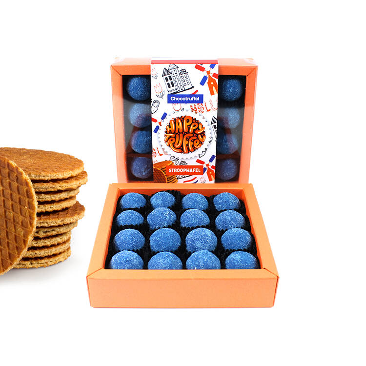 Made in Holland – Stroopwafel (16 truffels)