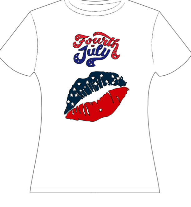 4th of July kiss