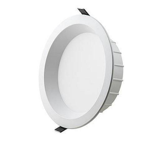 Interlight LED Downlight Easyfit dimbaar Vanaf 17,76 per stuk Zonder 11W 1100lm of 15W 1500lm driver 3.000K of 4000K CRI90 IP44 gatmaat 150mm buiten 180mm