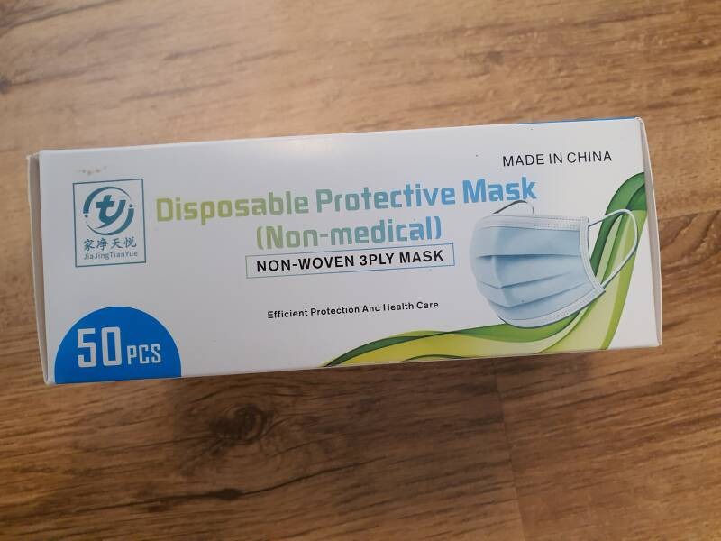 Disposable protective mask