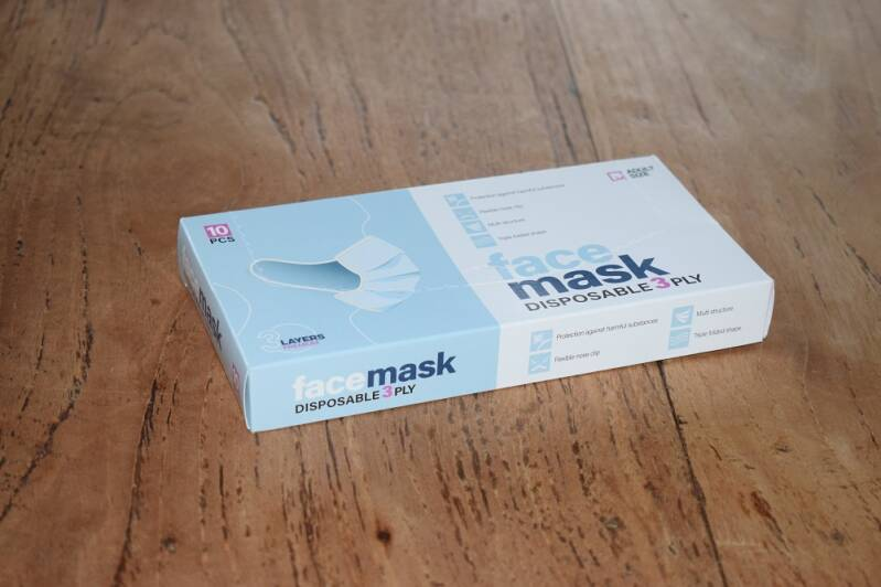 facemask 3st.