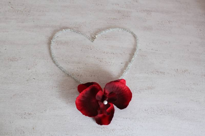 Ketting Orchidee