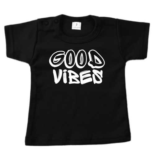 T-shirt Good vibes ABC Be cool