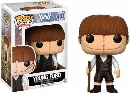 Pop Westworld Young Dr Ford Vinyl Figure