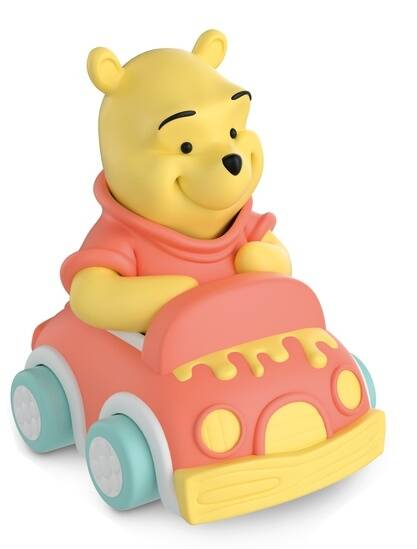 Clementoni Baby soft and go auto - Winnie The Pooh 10 cm
