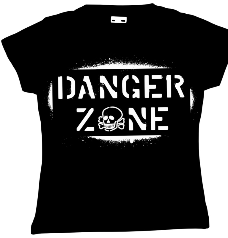 T-shirt/Longsleeve danger zone