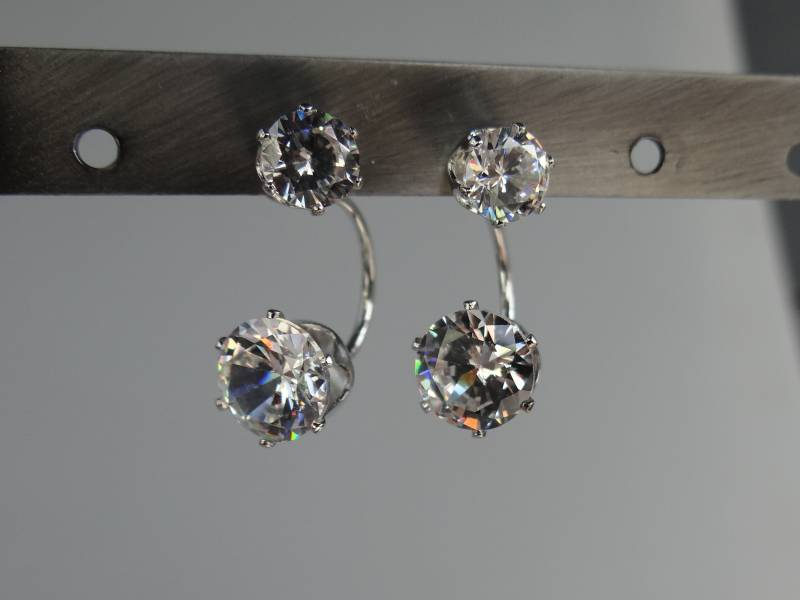 Strass double dots