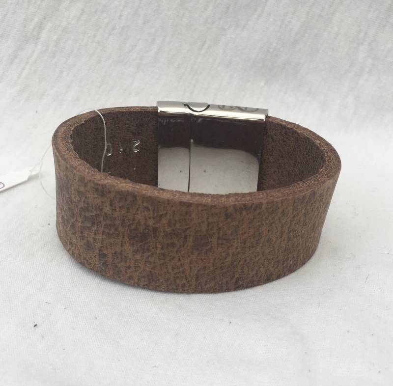 BL armband rough taupe