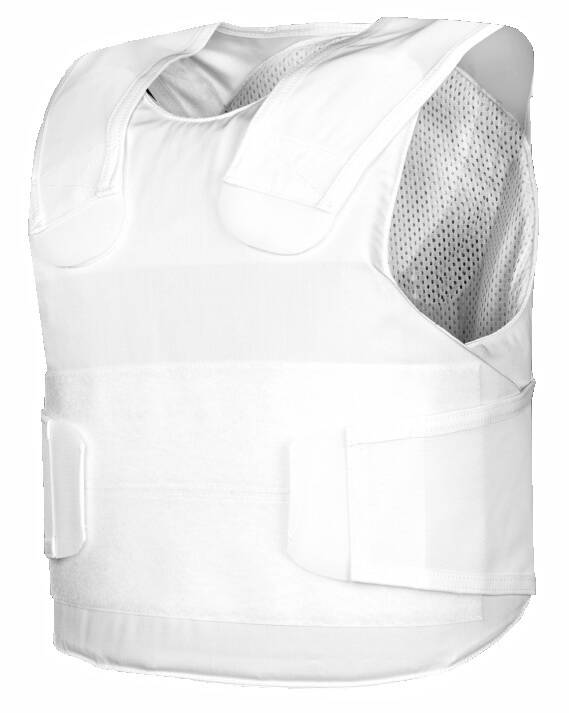Pollux KR1-SP1 steekwerende vest wit Small