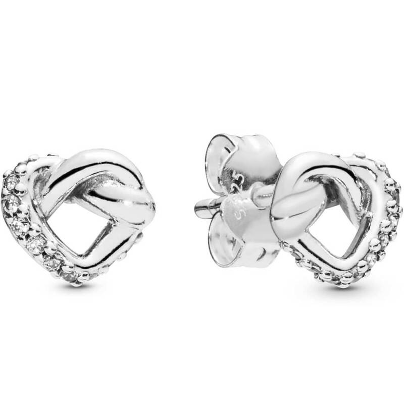 Pandora Oorstekers Knotted Heart 298019CZ
