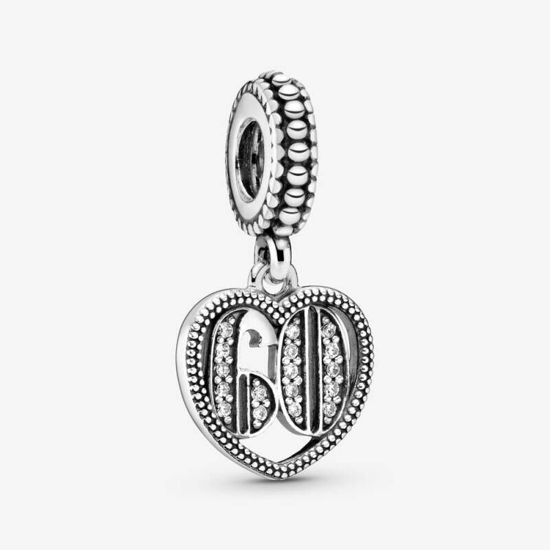 Pandora Dangles 60 Years of Love 797265CZ