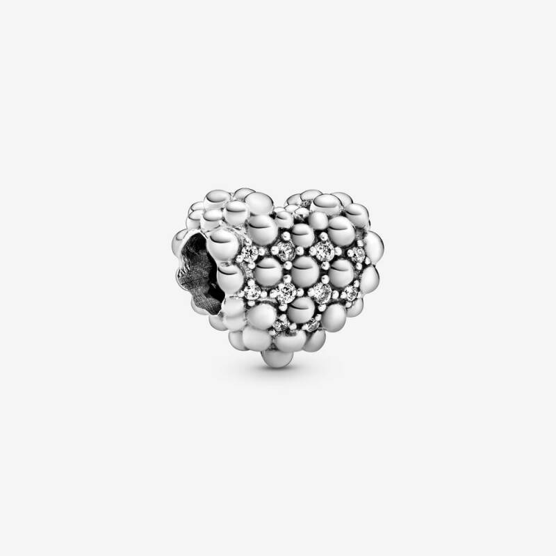 Pandora Beaded Sparkling Heart 798681C01