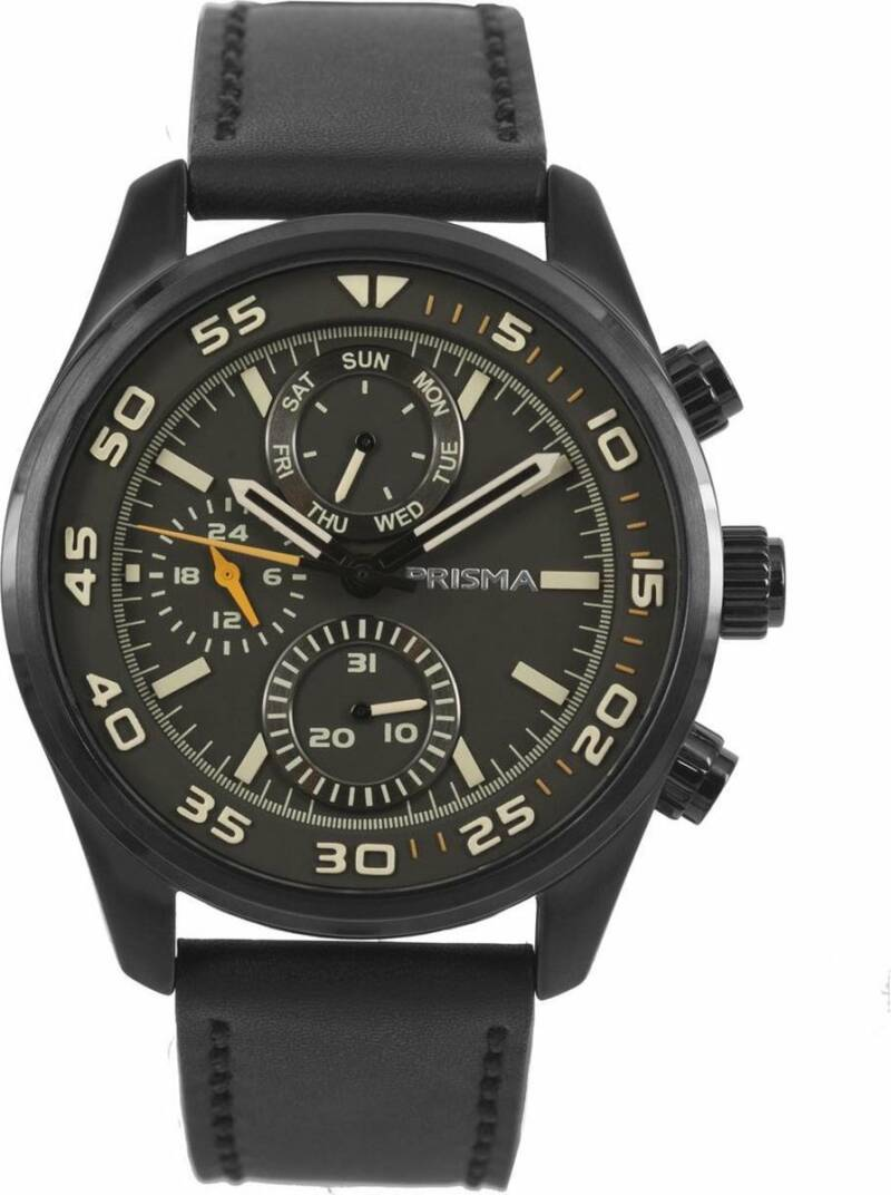 Prisma Heren Aviator Edition Zwart P.1825