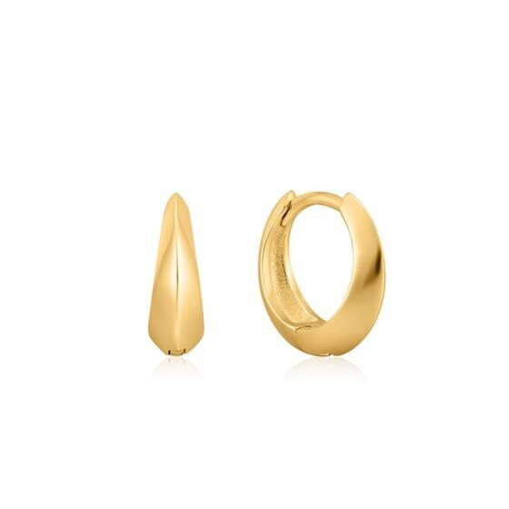 Ania Haie Spike It Up - Hoop Earrings AH E025-05G