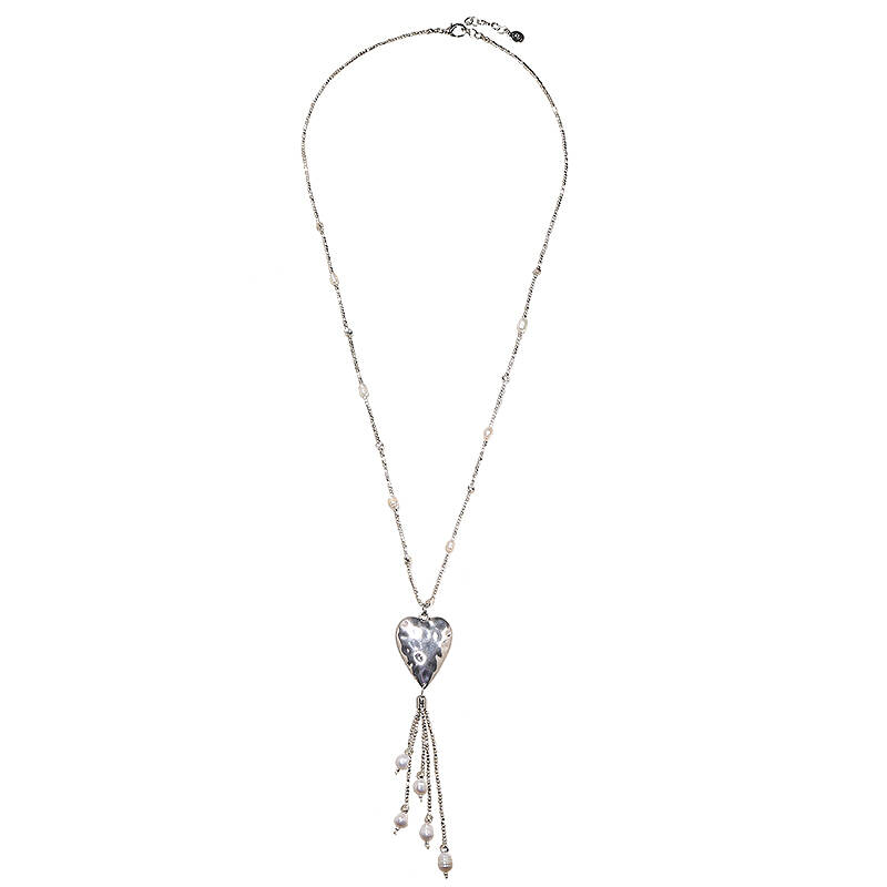 Ketting lovely style zilver