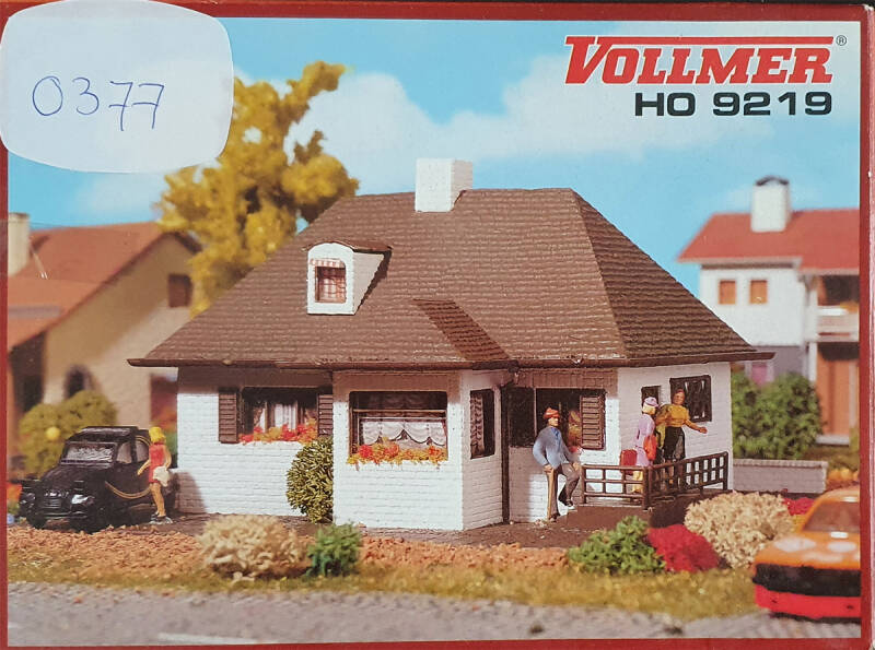 Vollmer 9219 - Bungalow (0377)