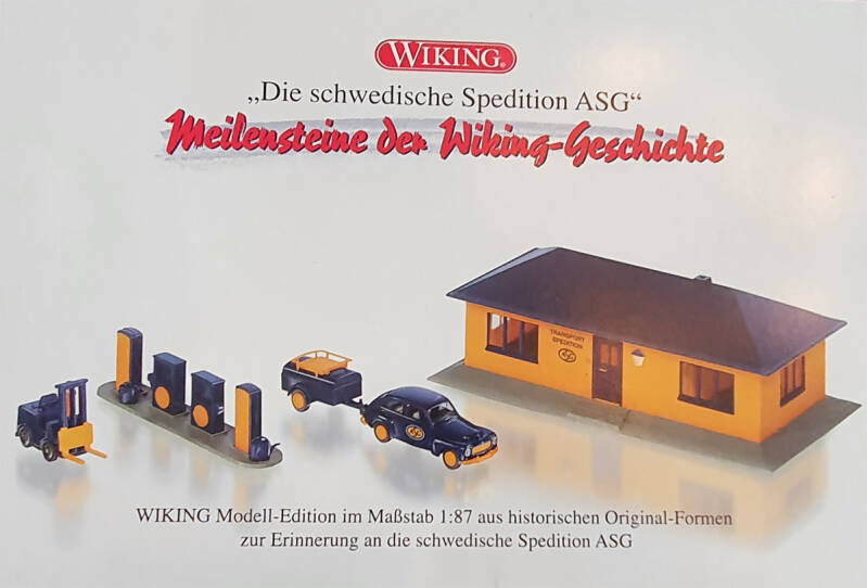 "Wiking speciaal set ""ASG"" (0401)"