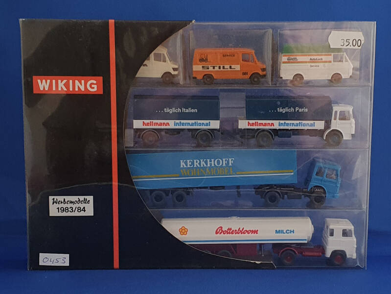 Wiking - reclame set trucks 1983/84 (0453)