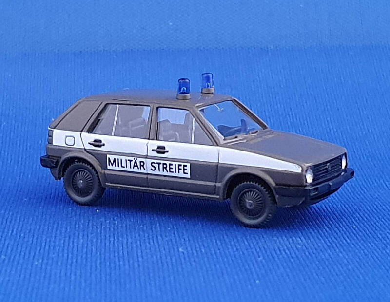 "Wiking - VW Golf II ""Militaire patrouille"" (0506)"