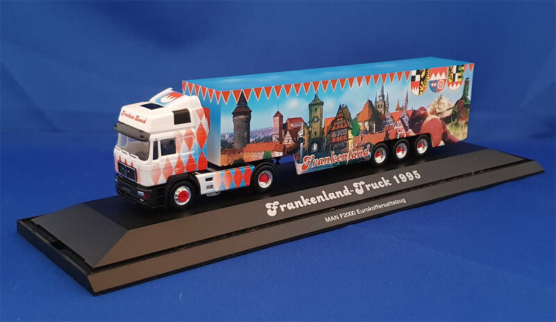 "Herpa PC Limited ""Frankenland-Truck 1995"" (0618)"