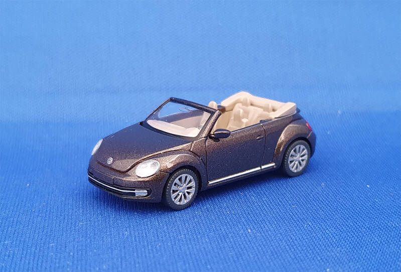 Wiking 002802 - VW The Beetle Cabrio (1581)