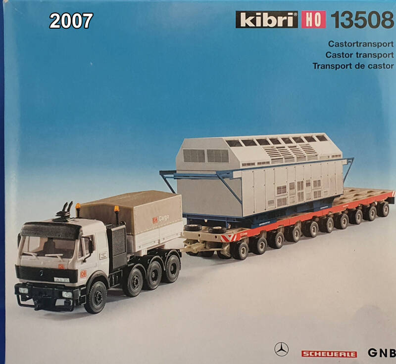Kibri 13508 - MB DB-Cargo Castortransport (2007)