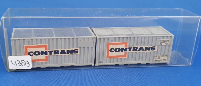 Set containers 2x 20ft (4383)