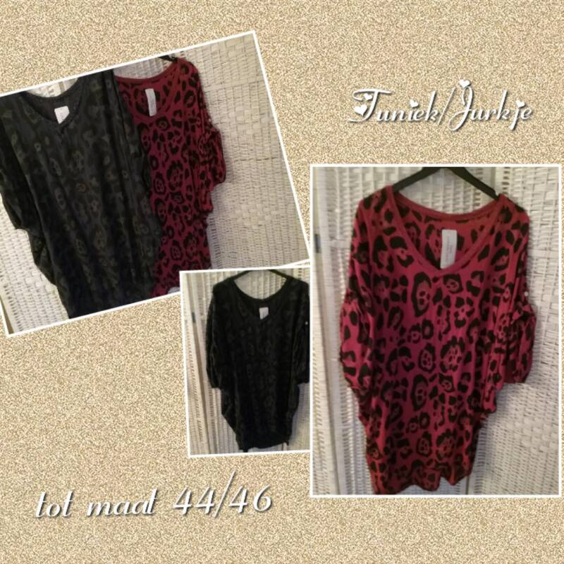 Tuniek / Blouse panterprint