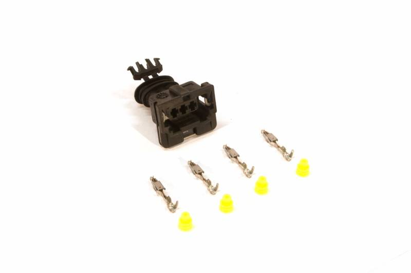 AMP 3 pin female connector