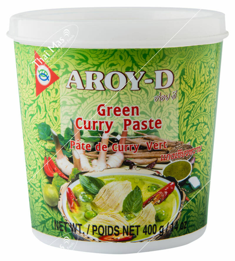 Aroy-D Green Curry Paste 400 gr
