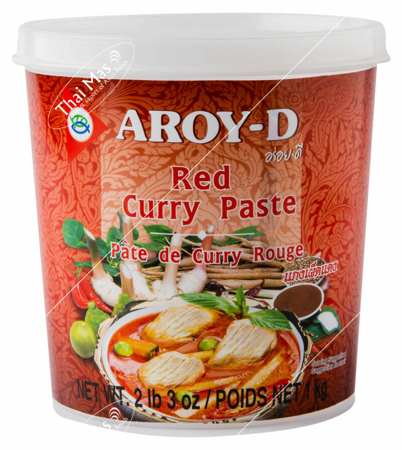 Aroy-D Red Curry Paste 400 ml